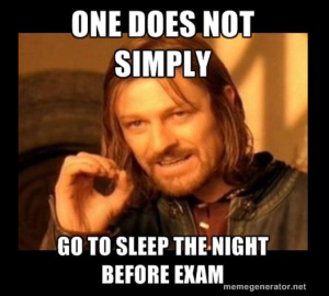 But really...go to sleep though.
