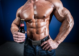 ...Beer after doing biceps?