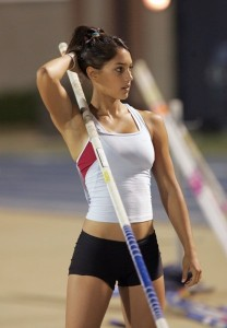 We all love Allison Stokke's physique...but she doesn't train to look good, she trains to be a top U.S pole vaulter